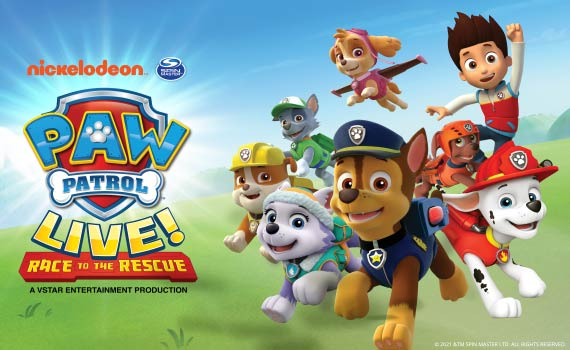 More Info for CANCELED - PAW Patrol Live! Race to the Rescue