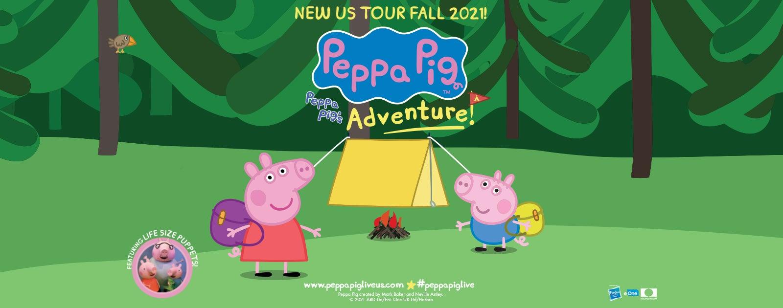 POSTPONED - Peppa Pig Live! Peppa Pig's Adventure