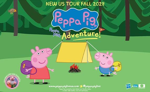 More Info for POSTPONED - Peppa Pig Live! Peppa Pig's Adventure